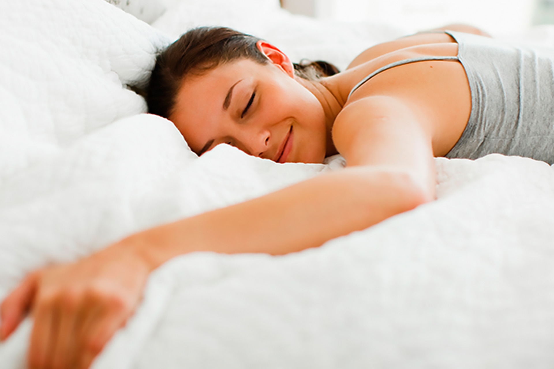 Woman Sleeping on Best Mattress for SIde Sleep